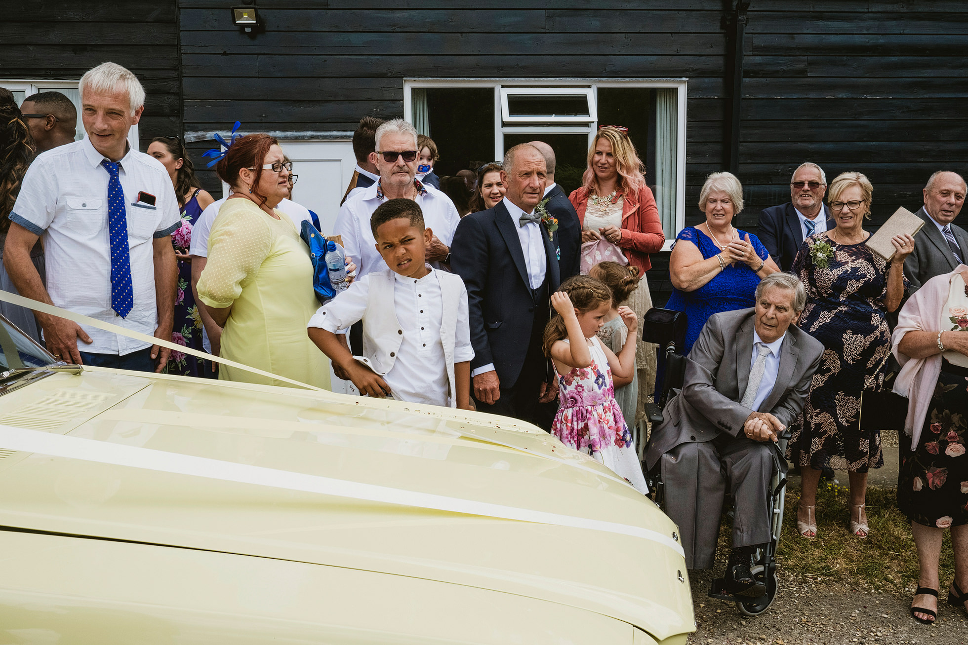 chappel and wakes colne village hall wedding photography