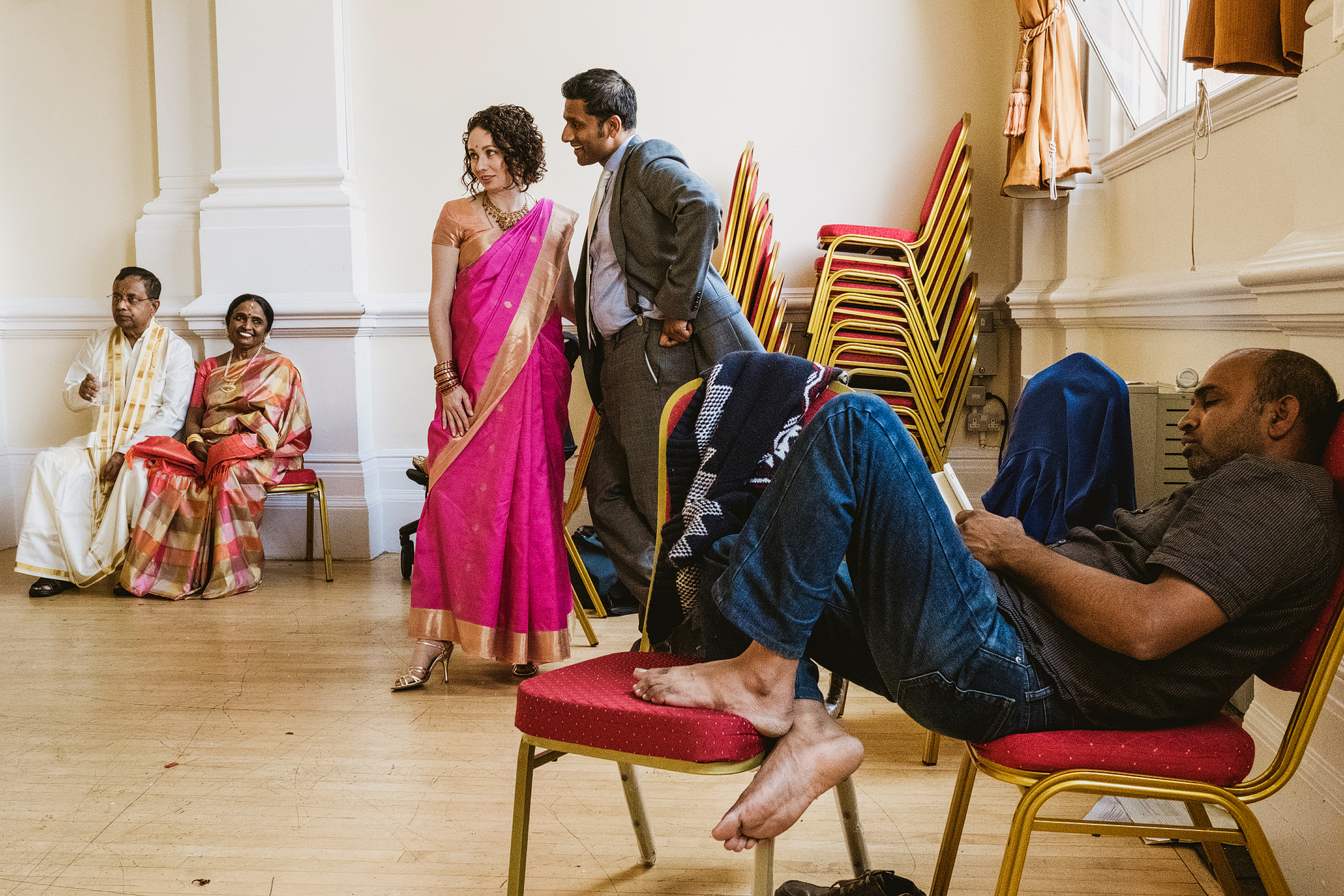 Leyton Great Hall Indian Wedding Photographer
