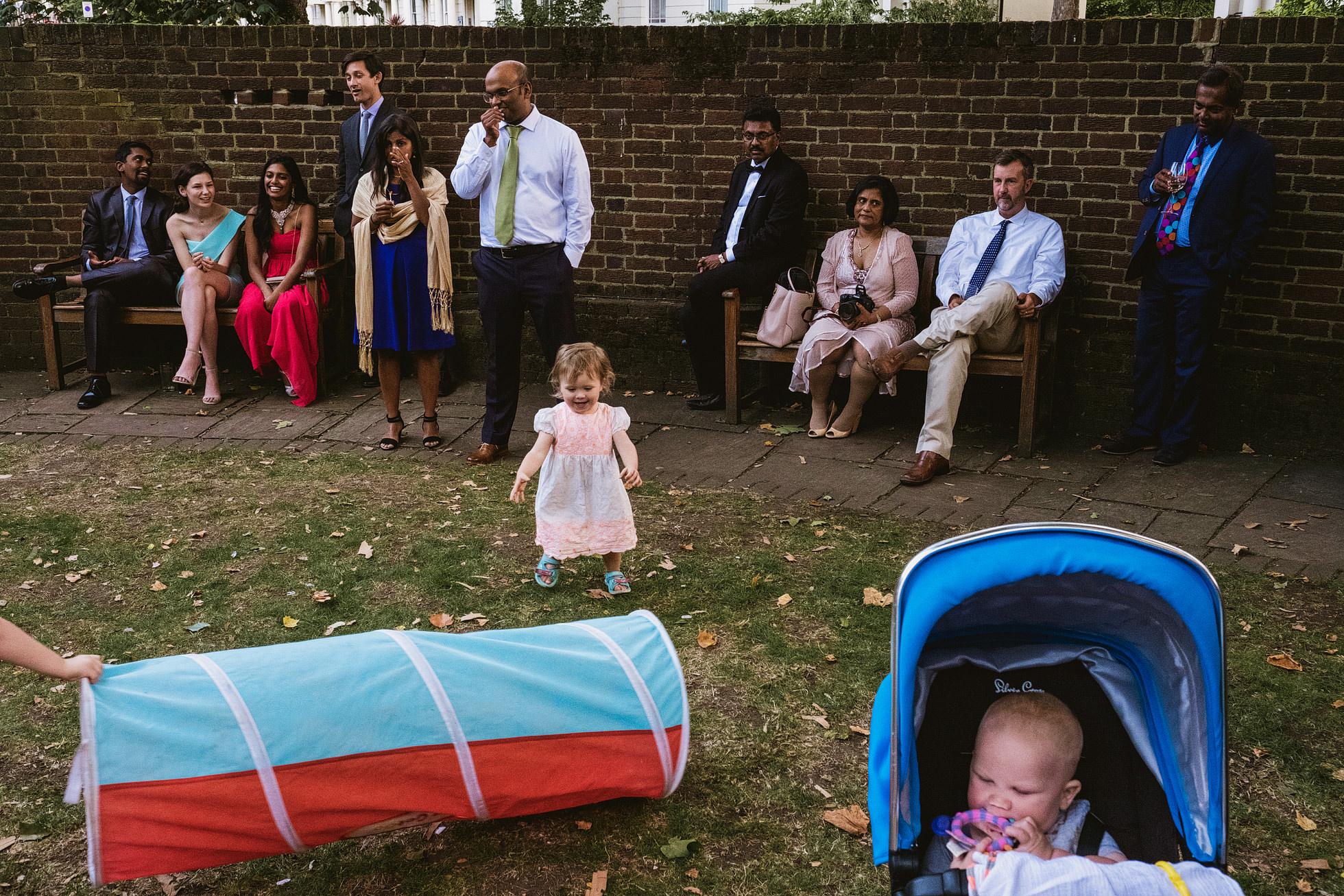 Cecil Sharp House reportage wedding photographer