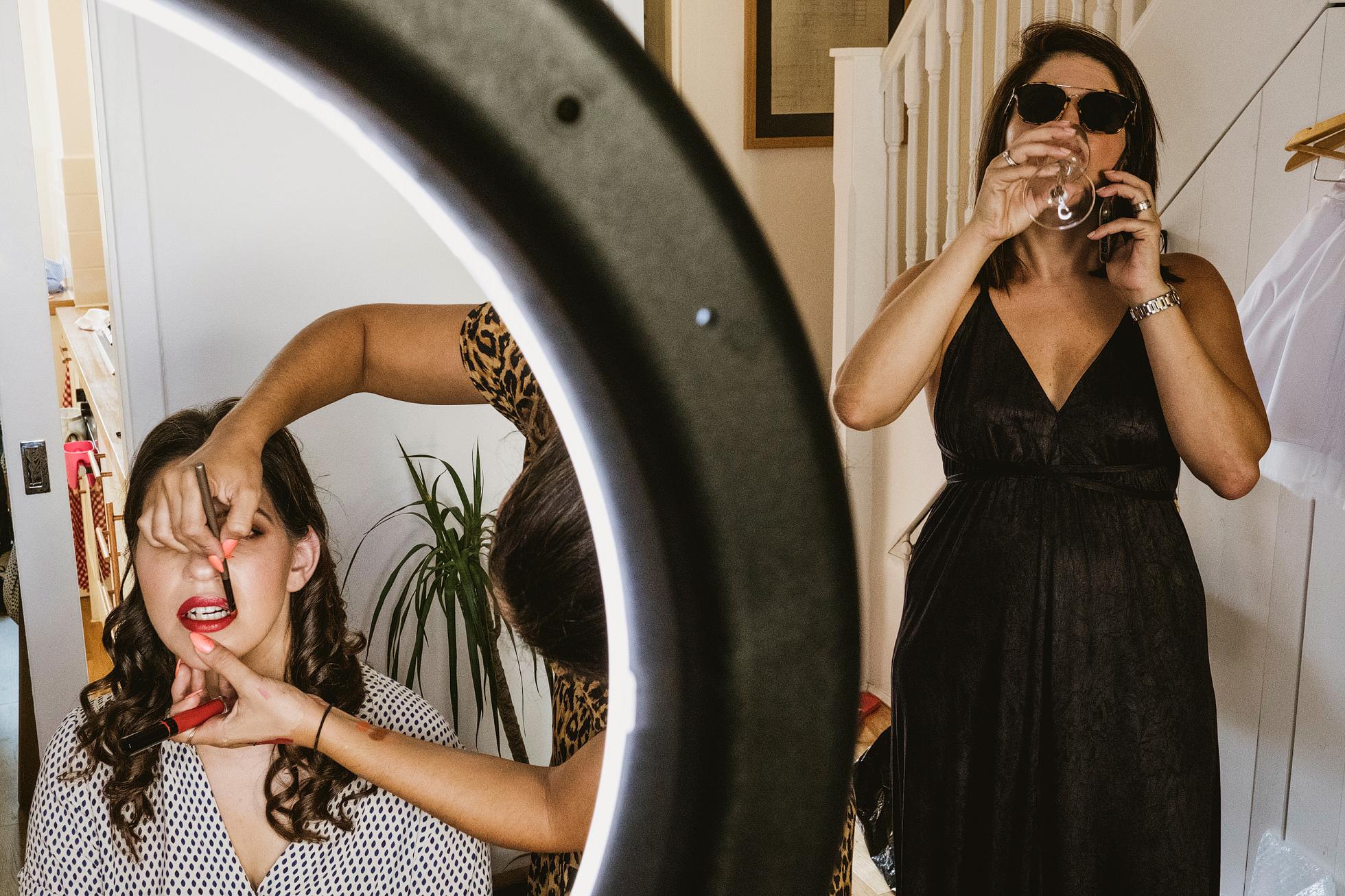 Bridal makeup Islington