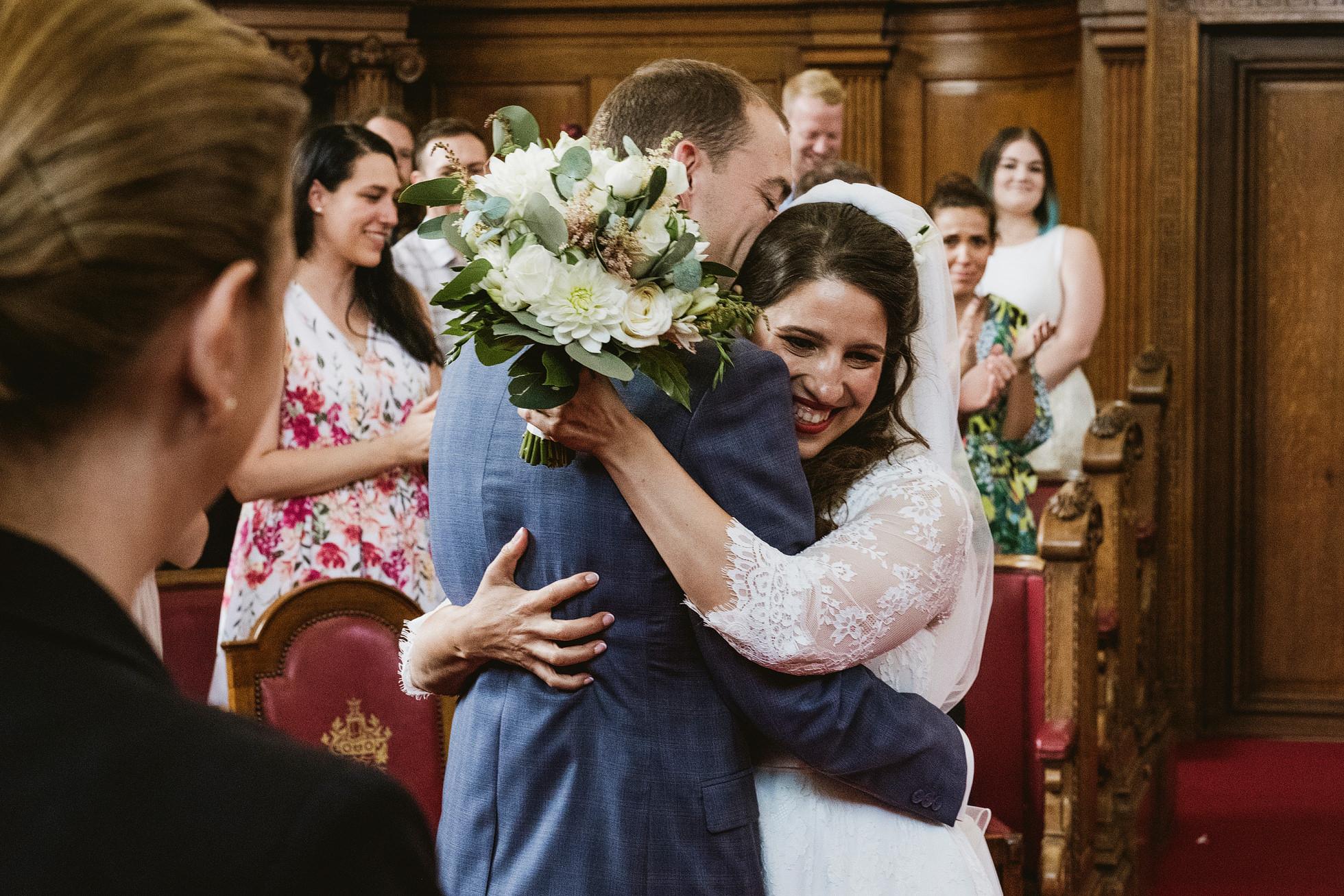 Islington Town Hall Documentary Wedding Photographers