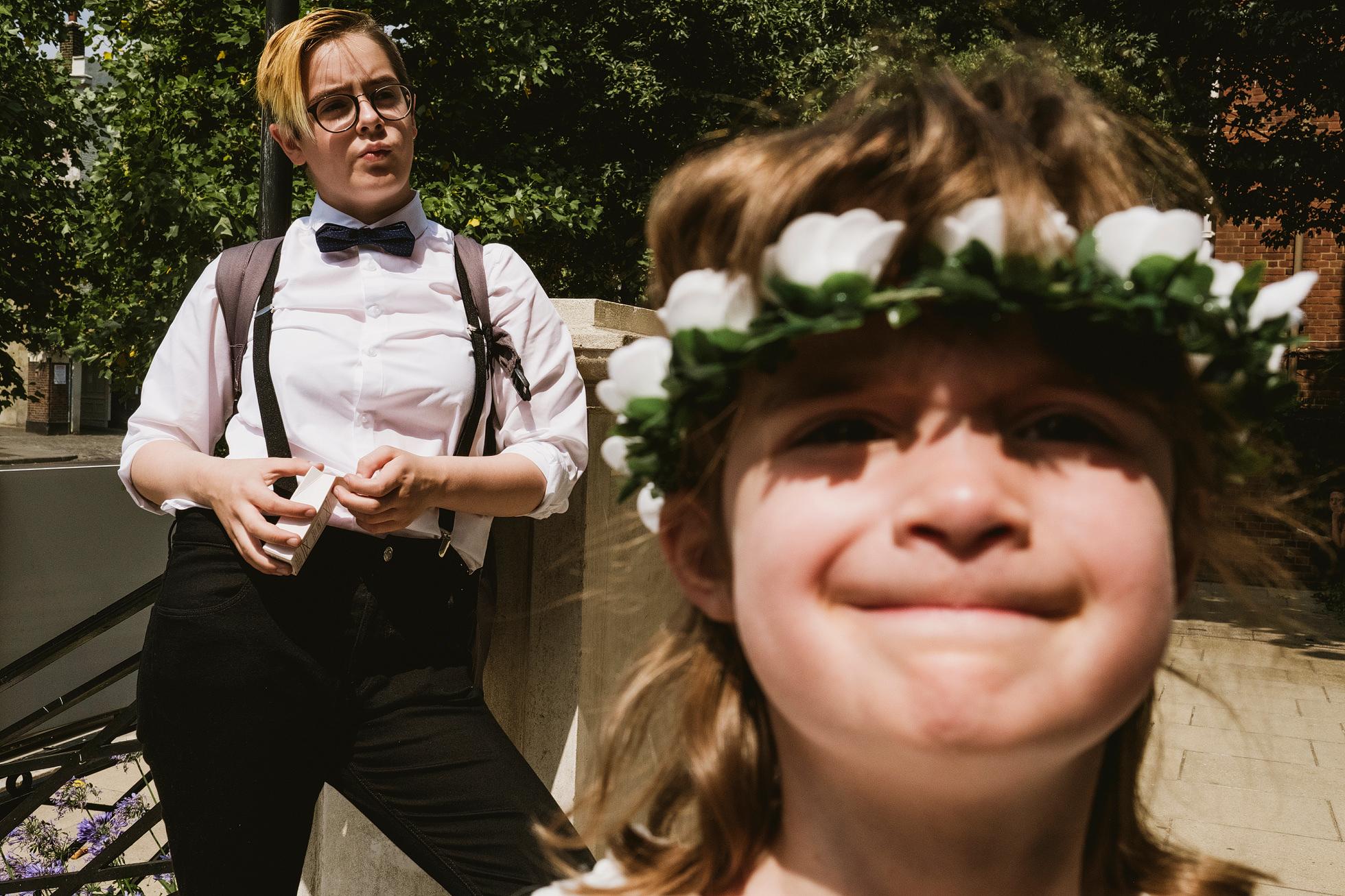 Street Style Islington Town Hall Wedding Photography