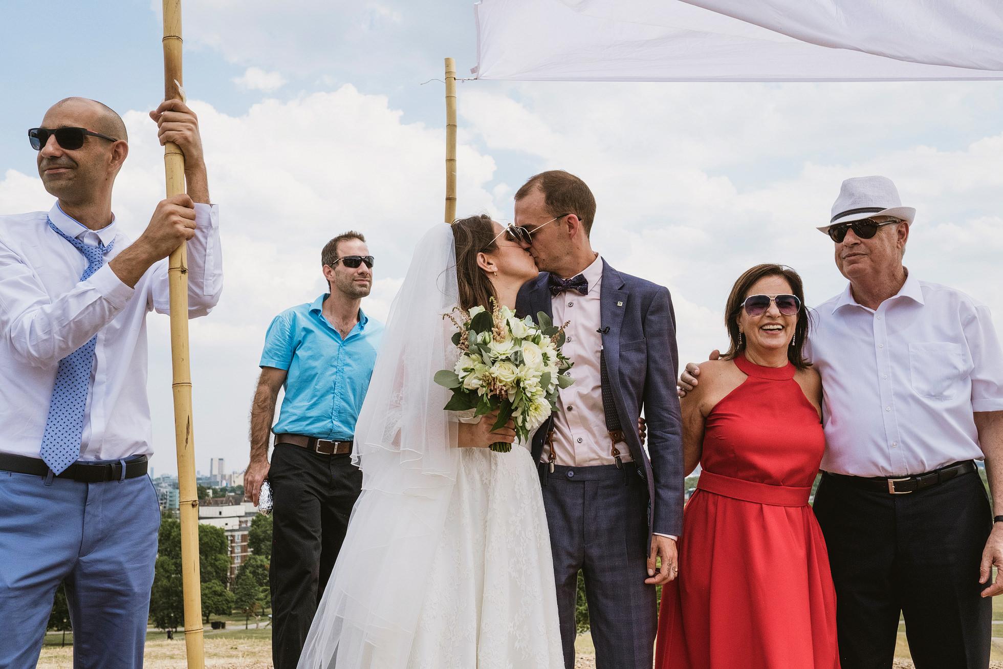 Jewish Wedding Ceremony Primrose Hill London