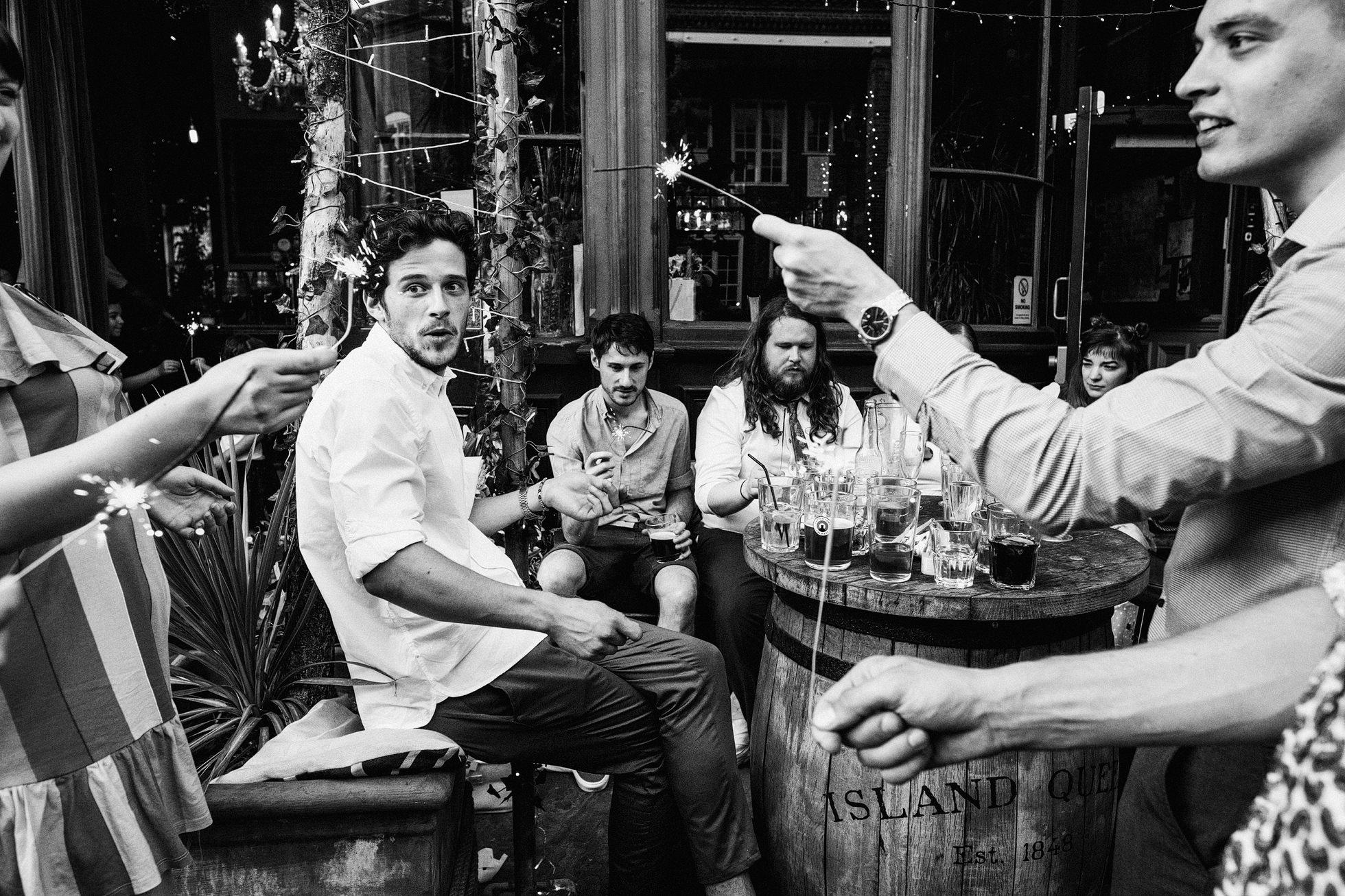 Island Queen Pub Wedding Photographers