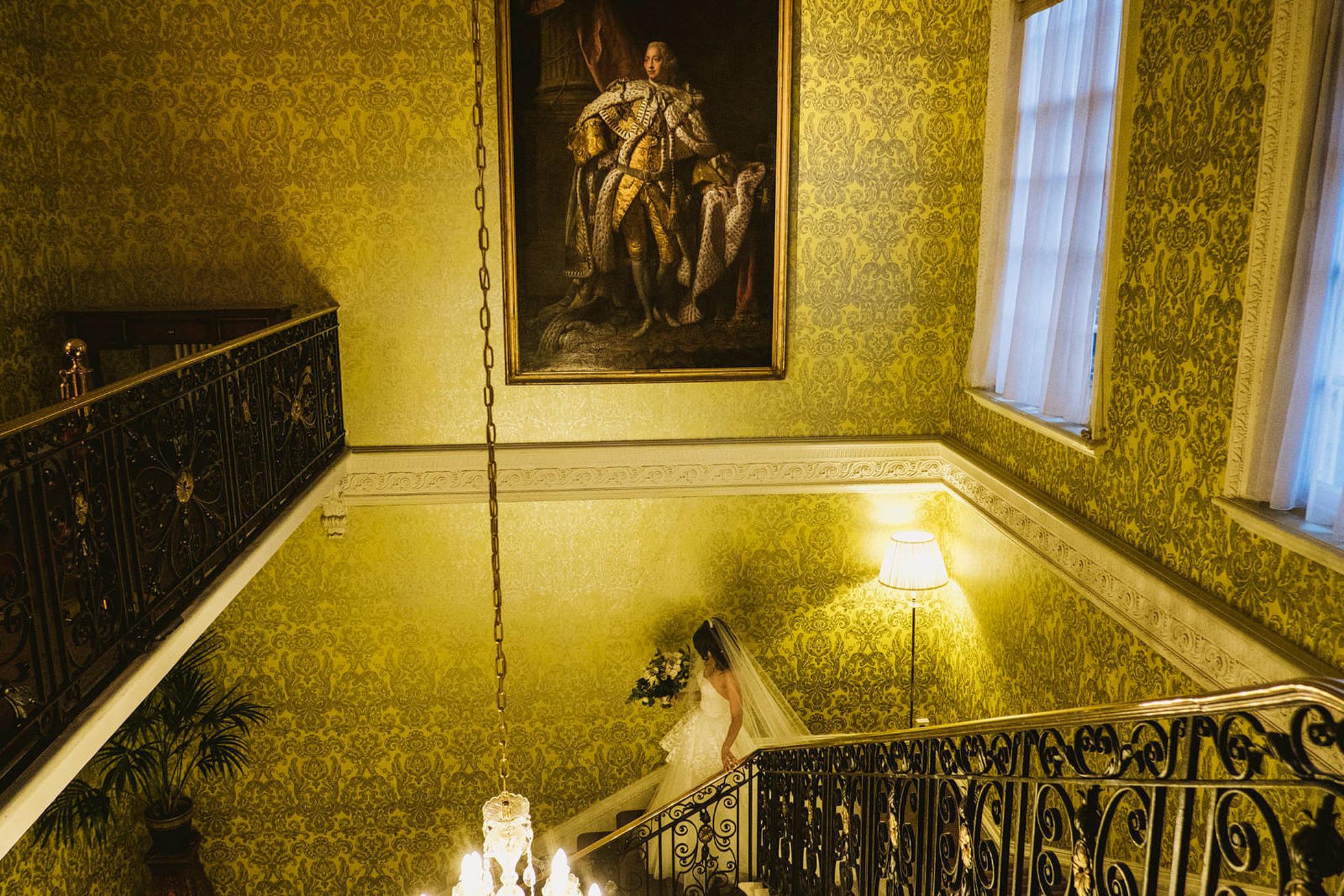 Bride entrance at Hedsor House Buckinghamshire