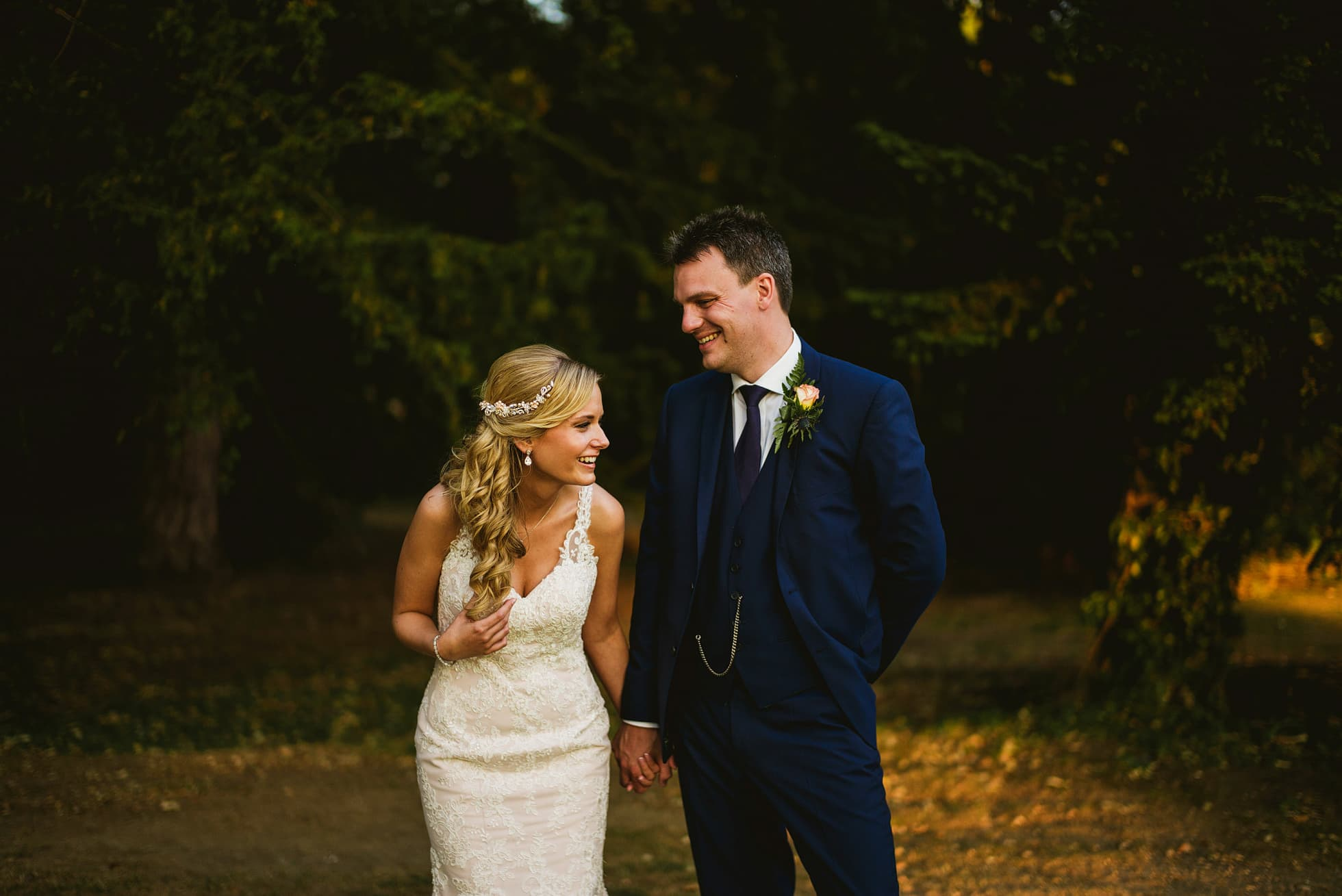 Rockliffe Hall documentary wedding photographer