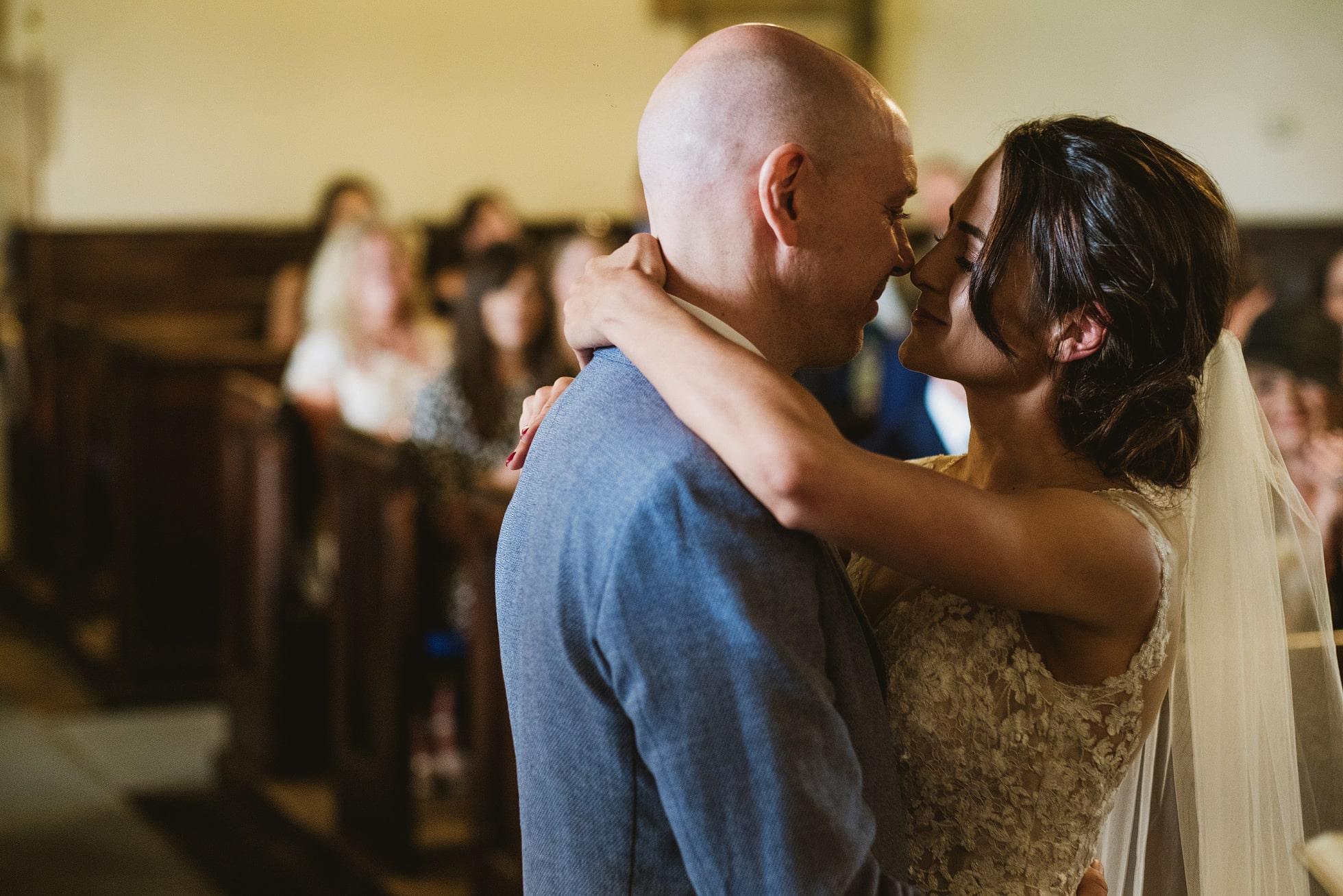 St. Oswald's Church Leathley Wedding Photographer