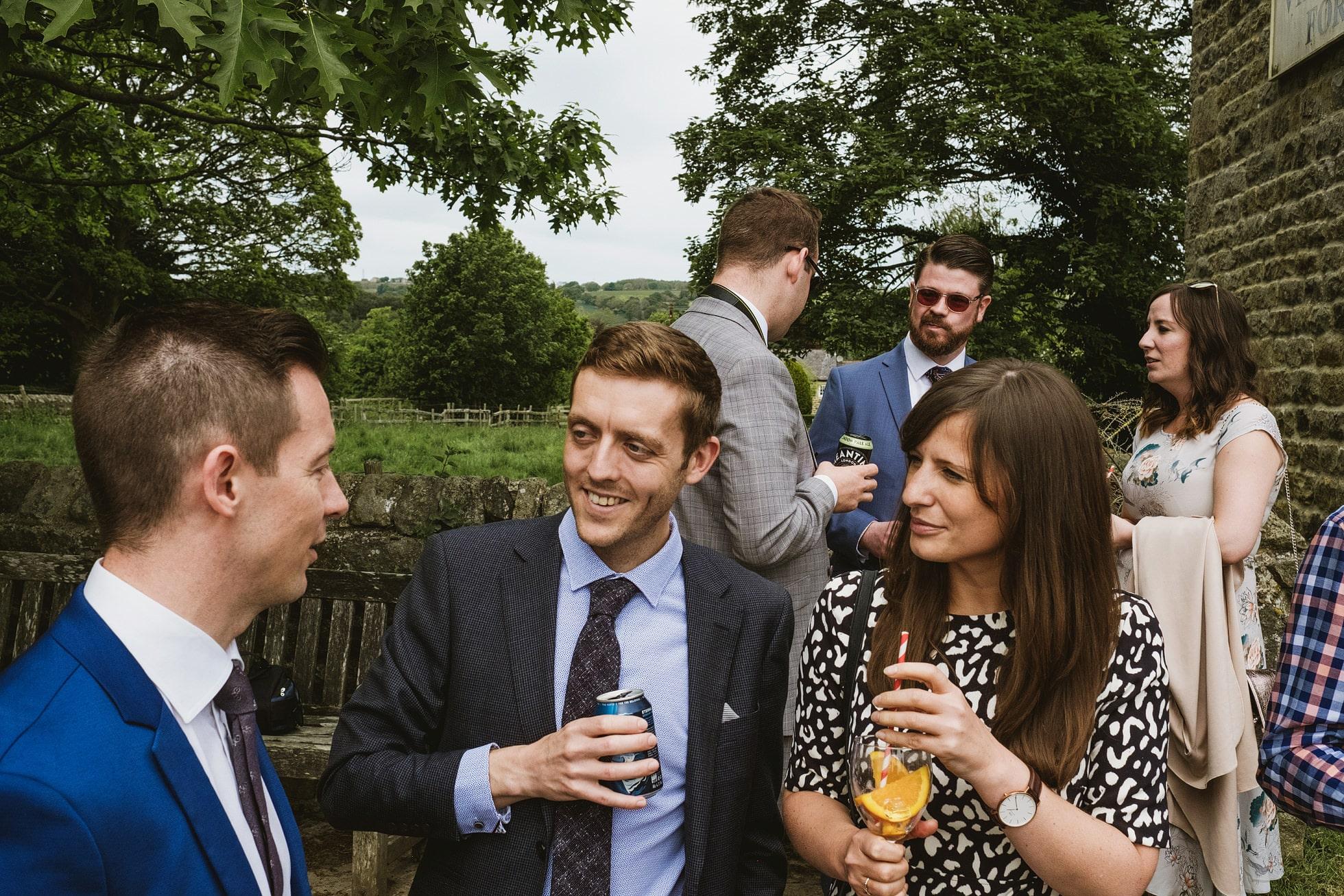 Leathley Village Hall wedding photography