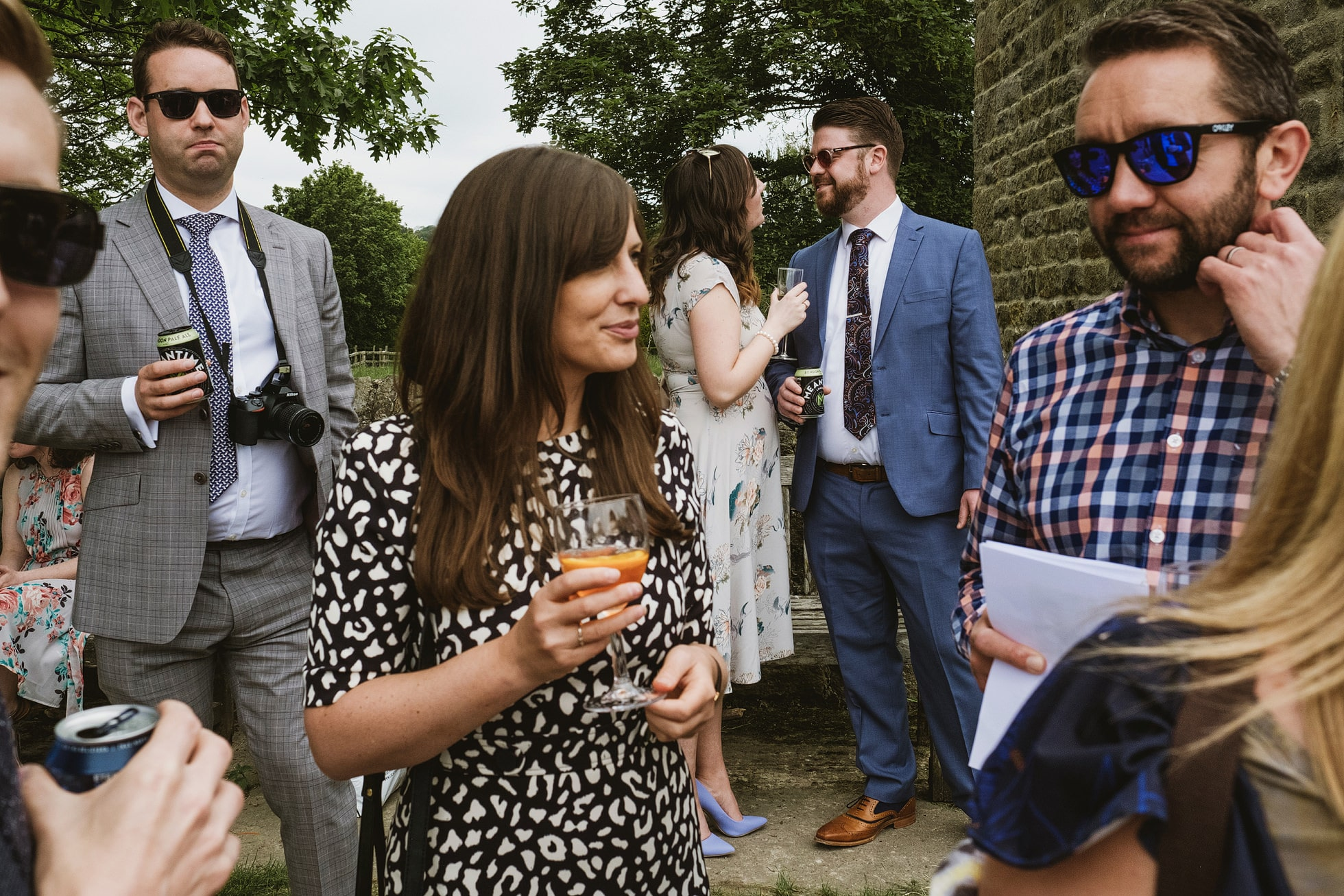 Leathley Village Hall wedding photographer
