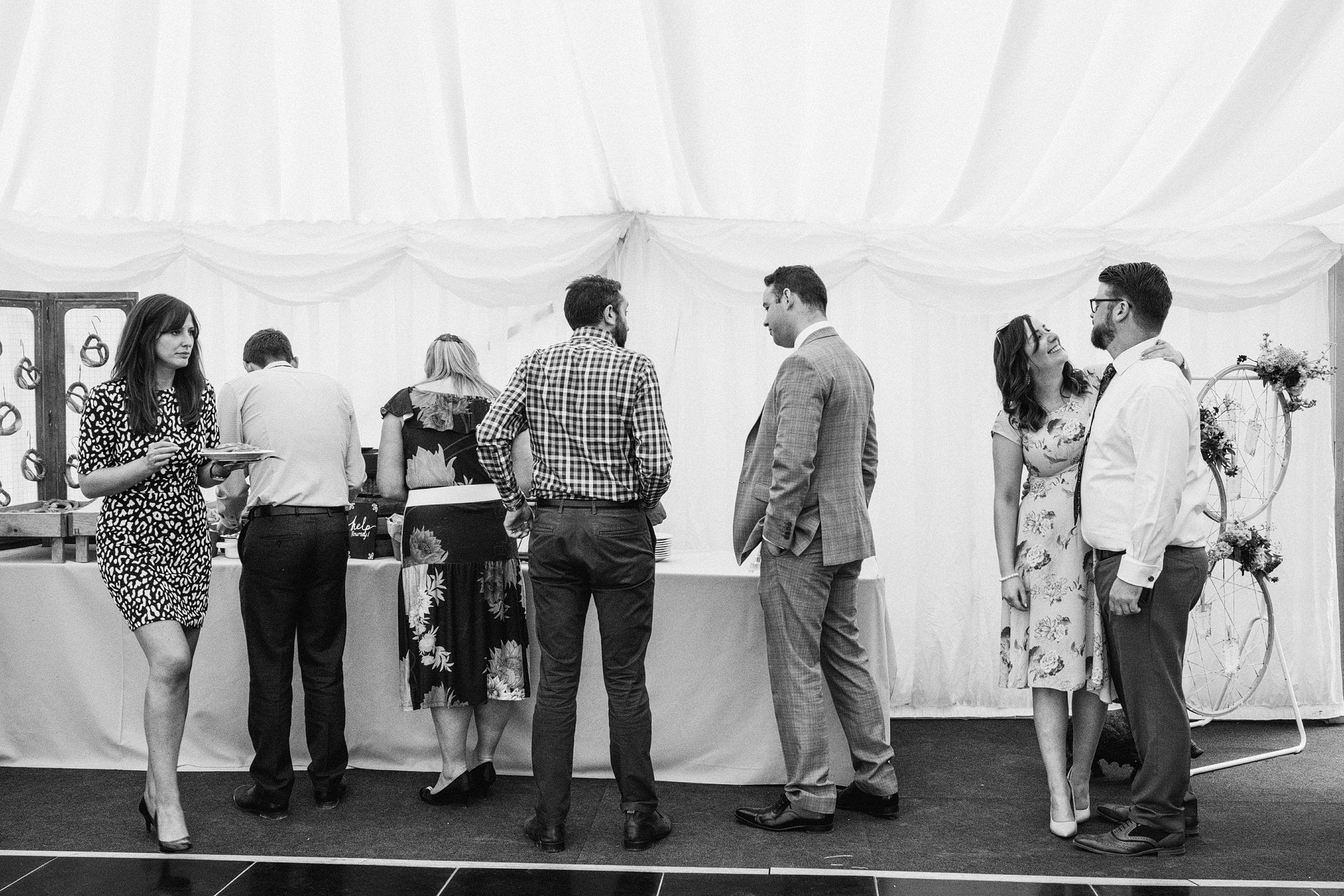 Leathley Village Hall wedding
