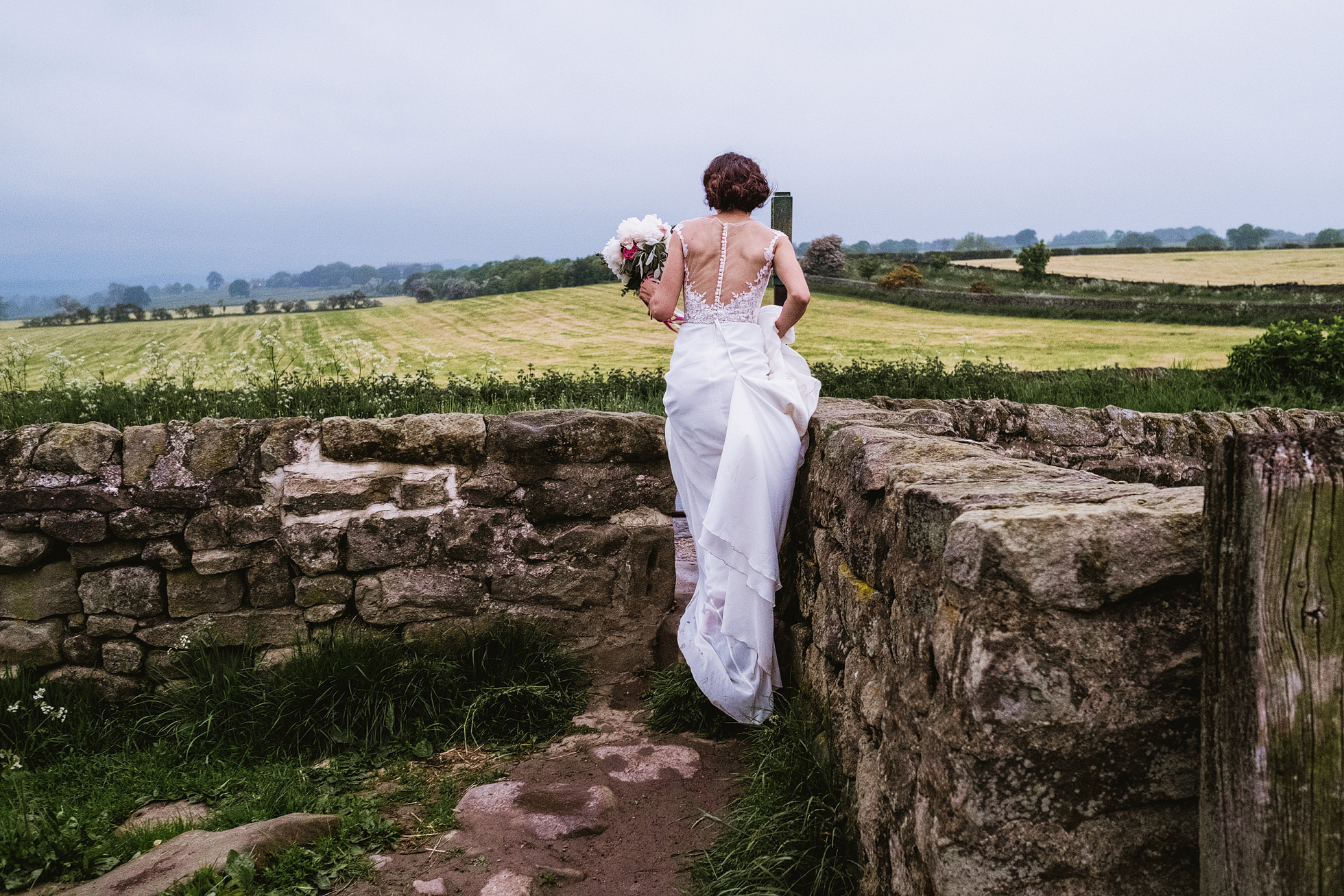 Leathley Village Hall Leeds wedding photographer