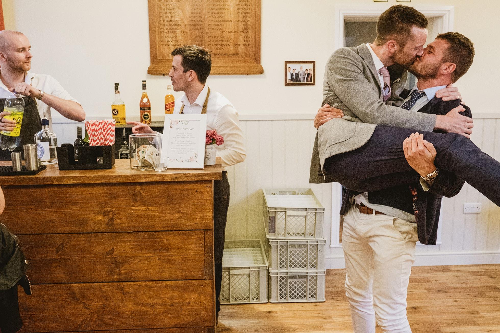 Leathley Village Hall Leeds wedding photographers